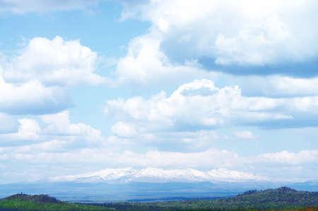 Summer Changbai Mountain in northeast China  photo
