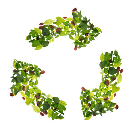 Leaves consisting of reusable flag