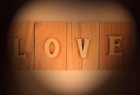 irradiation: Heart-shaped low-key lighting.