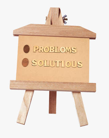 problemsolving: Word problems and problem-solving in the frame Stock Photo
