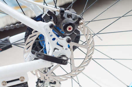 flywheel: Bicycles Rear Drive System - closeup flywheel and transmission