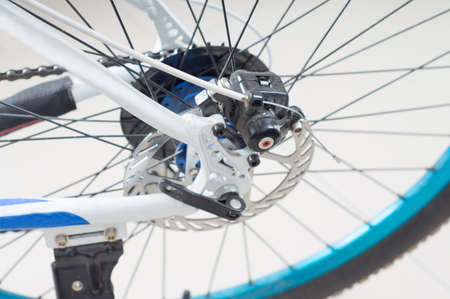 freewheel: Bicycles Rear Drive System - closeup flywheel and transmission