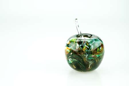 blown: A souvenir from Malta, colorful apple-shaped blown glass