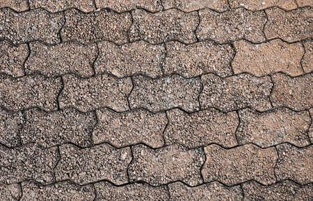brick floor: Pavement made of tiled bricks