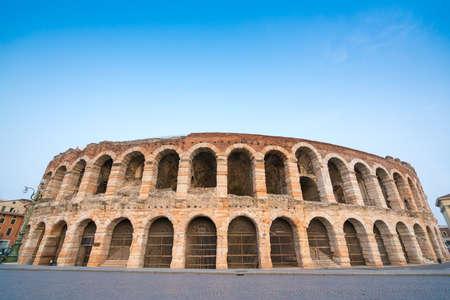 amphitheatre: Arena di Verona amphitheatre in the evening, Italy
