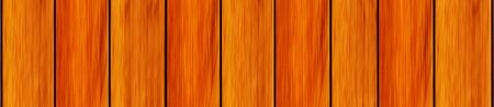 Board treated stained red walnut color consistent and long narrow panorama