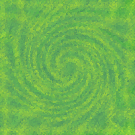 twisted spiral texture vortex wallpaper with mosaic pattern Stock Photo