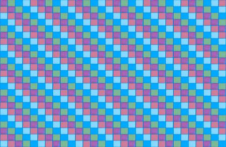 retro mosaic pattern blue mauve green diagonal row pastel tone background base