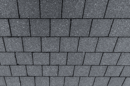roof square gray tile oblique background perspective view symmetrical geometric pattern base Banque d'images