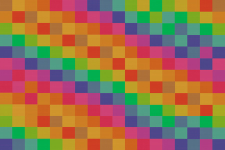 mosaic colorful bright canvas background abstract canvas bright inclined row consecutive green yellow red