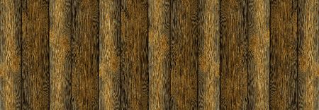 wooden background vertical boards brown brashing scorched wood narrow endless row rustic base