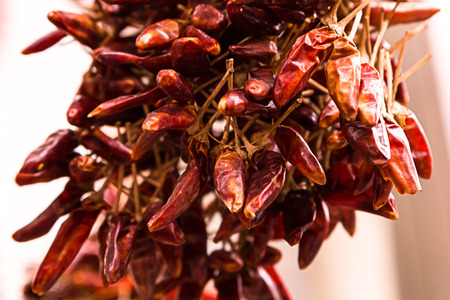 bunch of pods paprika hungrian dried many vegetables spicy seasoning closeup decoration kitchen design