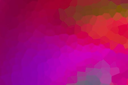 crimson lilac multifaceted hexagon geometric pattern base art. dark background Фото со стока