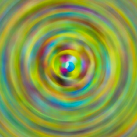 abstract background motion of the pool blur motion gradient green yellow blue center art basis
