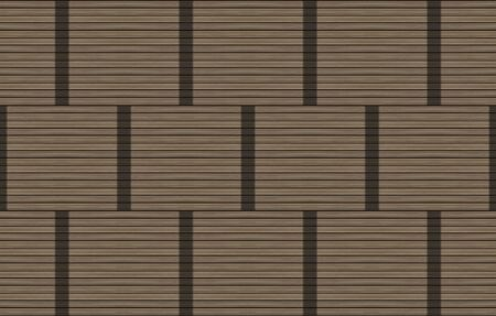 panel set wooden block stripe tree dark brown black stripes parallel geometric pattern