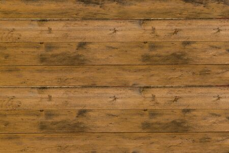 wooden boards old shabby horizontal pattern base beige, brown with knots background