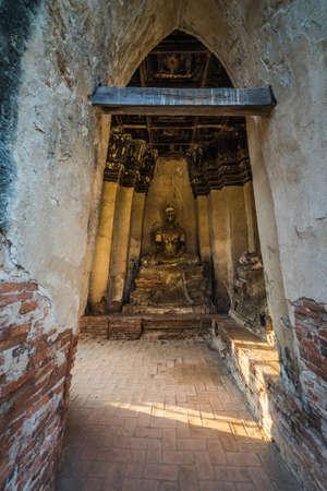 Ancient remains in ayutthaya thailand Stock fotó