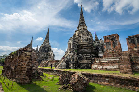 Wat Phrasisanpetch, Ayutthaya historical city, Thailand