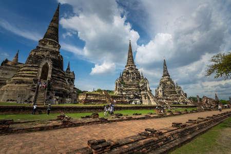Ayutthaya, central of Thailand Sajtókép