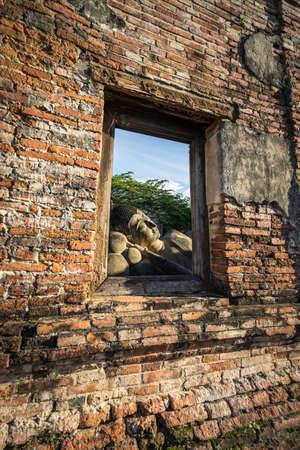 Ayutthaya history park Thailand.