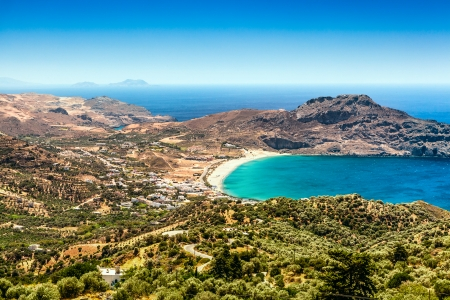 Crete island in summer Stock Photo