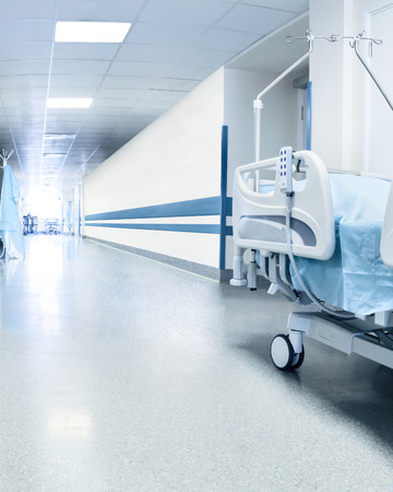Surgical bed in hospital
