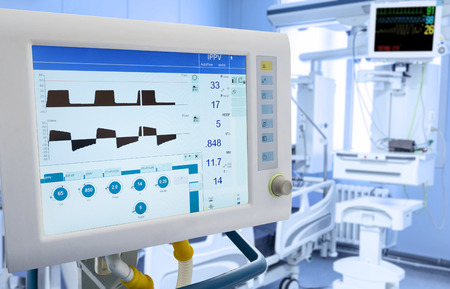 intensive care unit: Mechanical Lung ventilation in intensive care unit