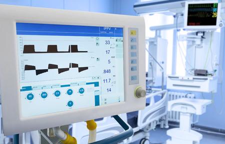 mechanical ventilation: Mechanical Lung ventilation in intensive care unit