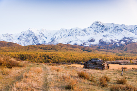 Traditional Altai Building Ð¡alled