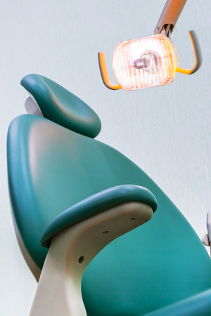 Dentist Chair with Lamp