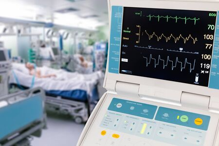 Vital Signs Monitor for Intra-Aortic Balloon Counter pulsation in ICU with patients
