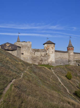 Castle at Kamenets-Podolsky in Ukraine
