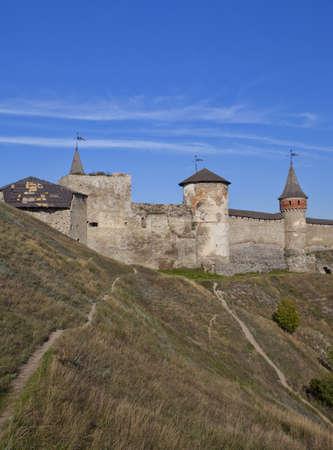 Castle at Kamenets-Podolsky in Ukraine