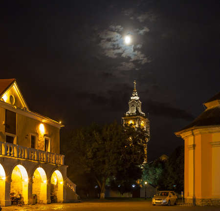 Historic City Hall in Kamenetz-Podolsk. Ukraine.