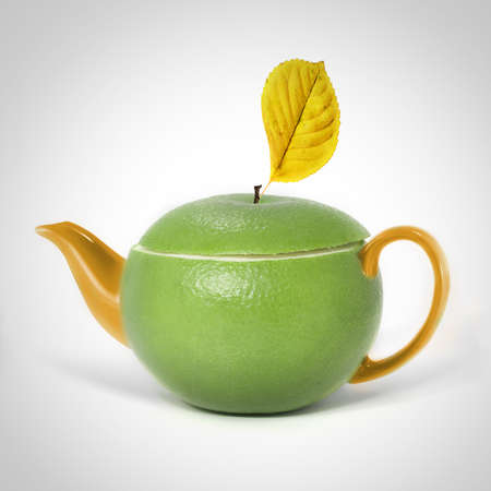 Concept sweetie teapot photo
