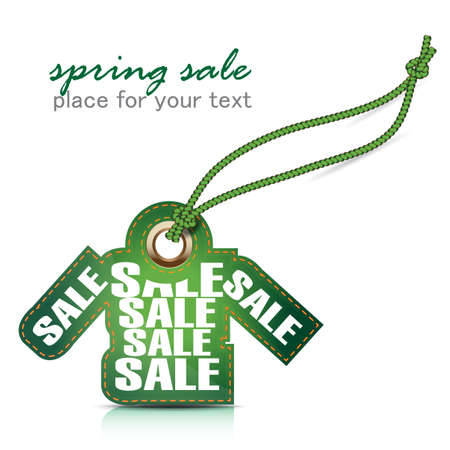 spring sale tag