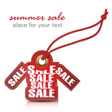 summer sale tag