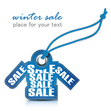 winter sale tag