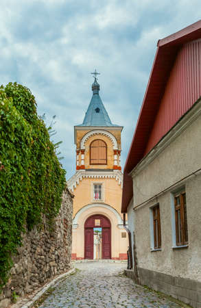 historic district: Historic District Kamyanets-Podolsky City  Ukraine Stock Photo