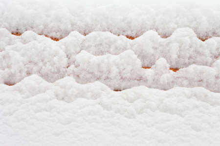 surface of winter snow texture Stock Photo