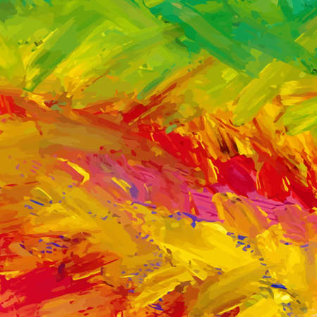colorful abstract hand-painted background
