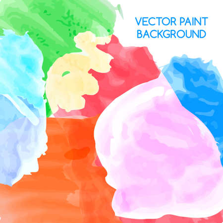 colors paint: Abstract artistic background by watercolor paint splashes of bright colors