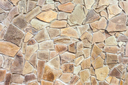 Stone Wall Background and Texture