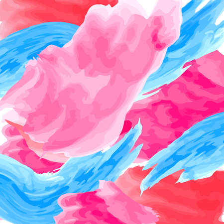 Abstract artistic background by watercolor-acrylic paint splashes of bright colors. Colorful hand-painted background.