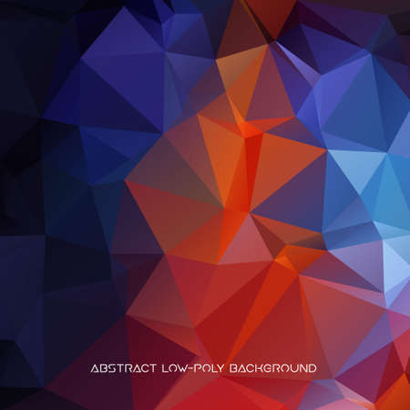 Vector abstract polygonal background. 일러스트
