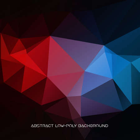Vector abstract polygonal background. Illustration