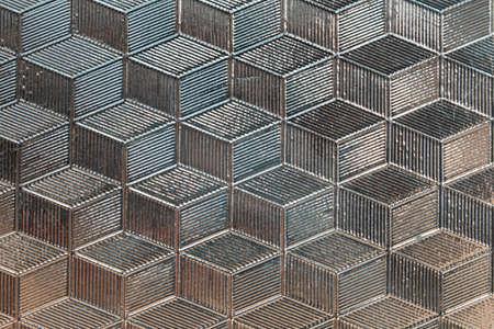 illustrati: Industrial metal background