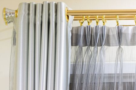 show window: drape Stock Photo