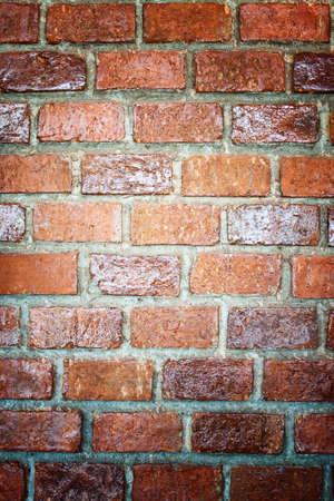 beautifully: Old brick walls, the interior beautifully.
