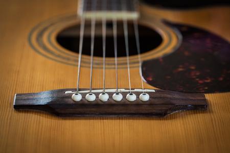 guitarra acustica: guitarra acústica en el antiguo estado.